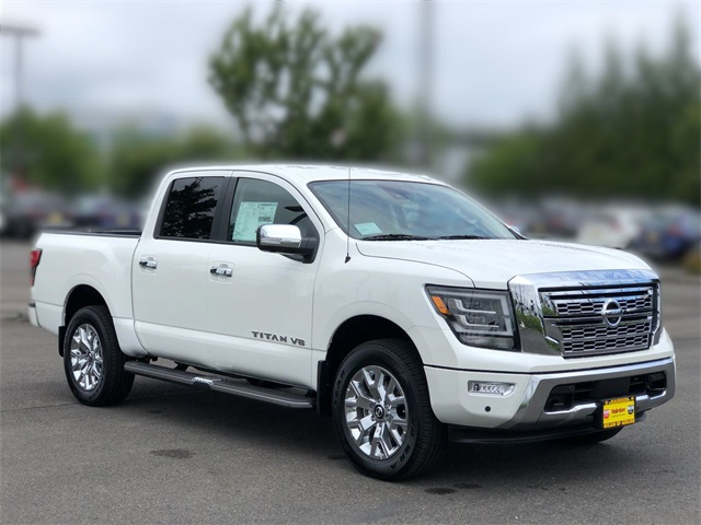 New 2020 Nissan Titan SL With Navigation & 4WD
