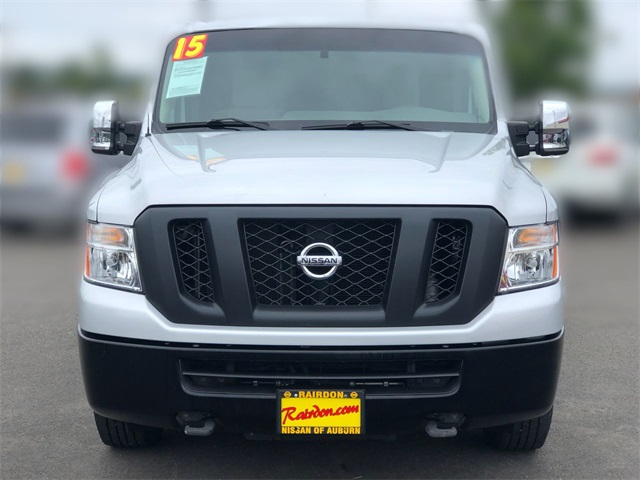 Pre-Owned 2015 Nissan NV2500 HD S