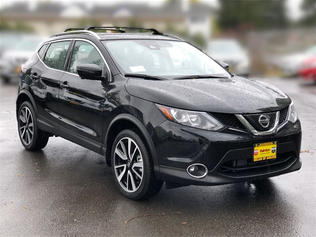 New 2019 Nissan Rogue Sport SL With Navigation & AWD | Black Friday Door Buster