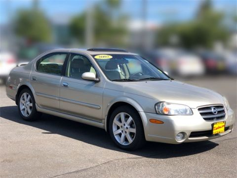 Pre-Owned 2002 Nissan Maxima GLE
